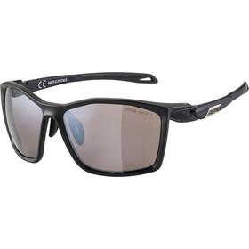 Alpina Twist Five HM+ Glasses, black matt/black mirror